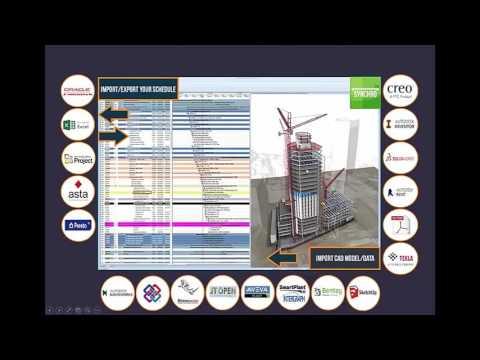 Webinar Synchro PRO, BIM 4D para Planificación, Construcción y Project Management | 20160927
