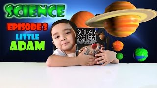 SCIENCE Planets For Kids Solar System Planetarium from 4M Kidz Labs with Little Adam