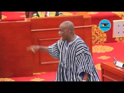 Haruna Iddrisu goes 'berserk' over Speaker's conduct in Parliament