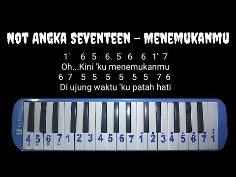 Not Pianika Seventeen - Menemukanmu