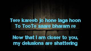 Baixar Sanam Re lyric translation