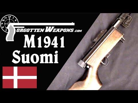 Danish M1941 Suomi SMG