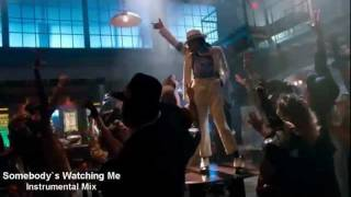 Michael Jackson - Somebody`s Watching Me Instrumental Mix Trailer