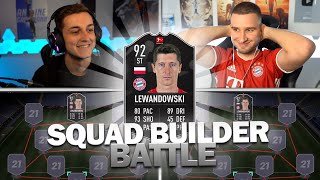 FIFA 21: POTM LEWANDOWSKI SQUAD BUILDER BATTLE | Pain vs Tabak