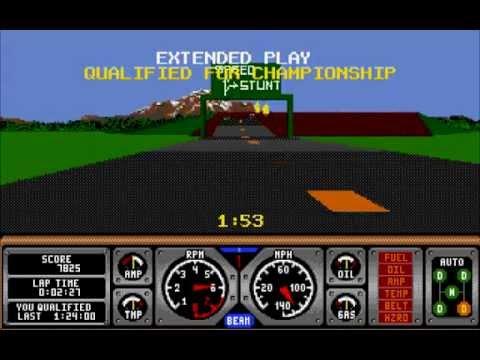 Hard Drivin - Atari ST [Longplay]