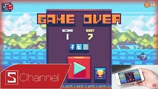 Schannel - Game Fist Fish: Tựa game đồ họa 8-bit siêu khó, đang nằm trong Top game mới của App Store