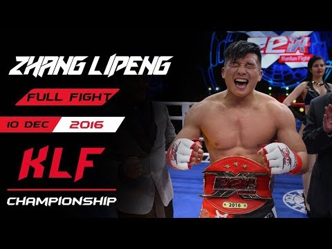 Kickboxing: Zhang Lipeng vs. Javier Fuentes FULL FIGHT-2016