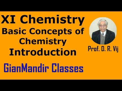 XI Chemistry - Basic Concepts of Chemistry by Ruchi Mam