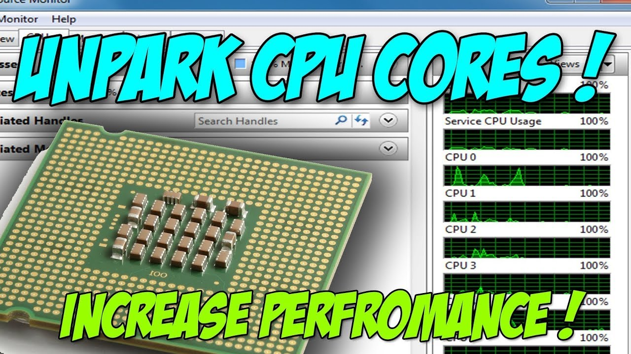 How to Unpark CPU Cores on Windows 10 pro