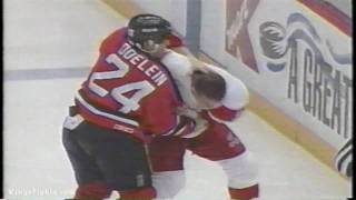 Darren McCarty Vs Lyle Odelein 12/19/97