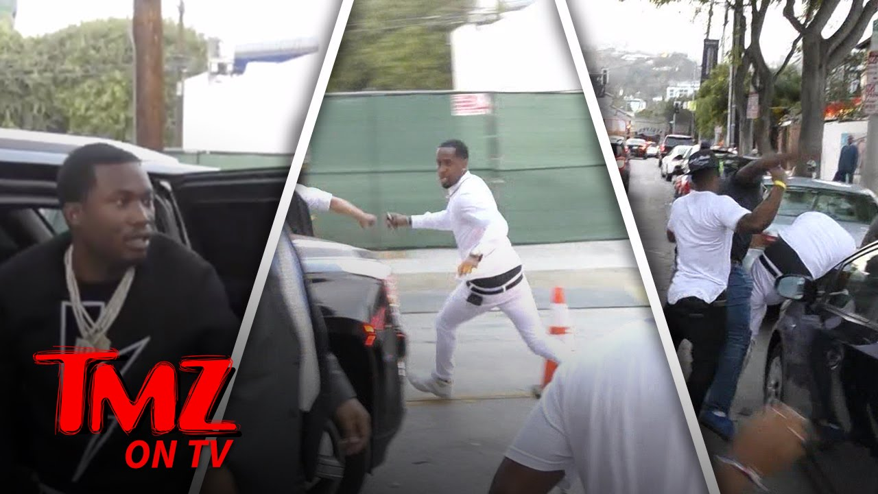 TMZ Reporter Says There's Footage of Nicki Chasing Safaree With Knife