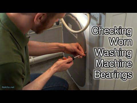 Checking Worn Washing Machine Bearings