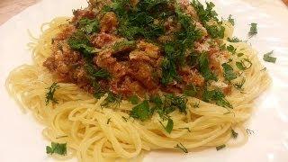 Спагетти болоньезе. Рецепт пасты болоньезе