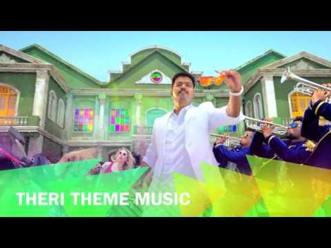 Theri Theme Music Mix | Vijay | Atlee | G. V. Prakash