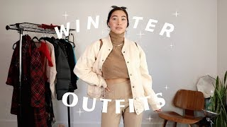 Winter Outfit Ideas ! Secondhand & Artsy
