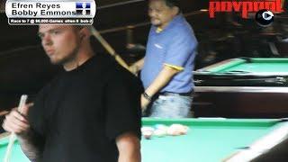 Part 4 / Efren Reyes vs Bobby Emmons / One-Pocket Match!