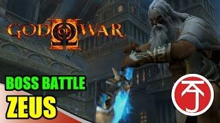 God Of War II - BOSS BATTLE: KRATOS VS ZEUS