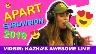 KAZKA — Apart (Live on Hit FM) #vidbir2019 Eurovision