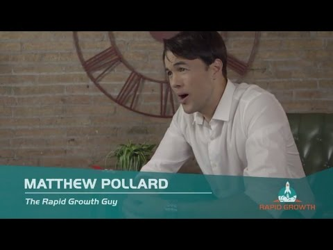 Matthew Pollard - Small Business Activist -  Business Growth Speaker - Rapid Growth Academy