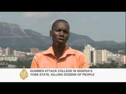 Dozens killed in Nigeria college attack