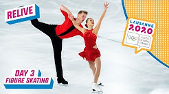 RELIVE - Figure Skating - Pairs Free Programme - Day 3 | Lausanne 2020
