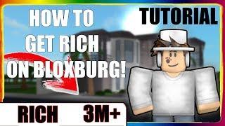 How To Gain Money FAST AND EASY on Bloxburg! | Roblox Bloxburg Tutorial
