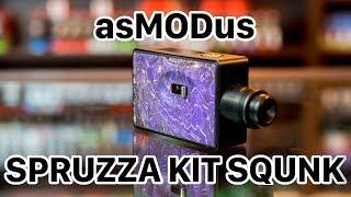 Najlepszy Squonk ? - asMODus Spruzza 80W Squonk Kit