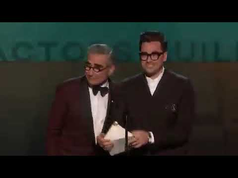 Parasite Movie Wins SAG AWARD By A Cast In A Motion Picture