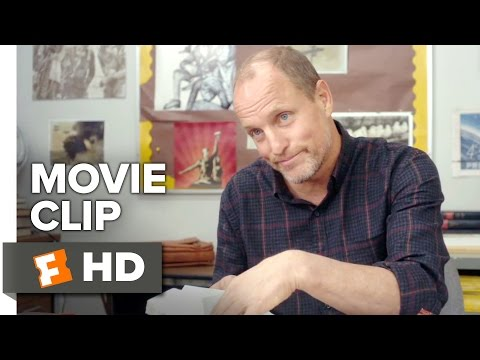 The Edge of Seventeen Movie CLIP - Lunch Break (2016) - Woody Harrelson Movie