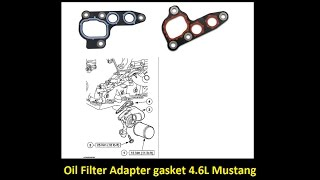 oil filter adapter removal 4 6l mustang