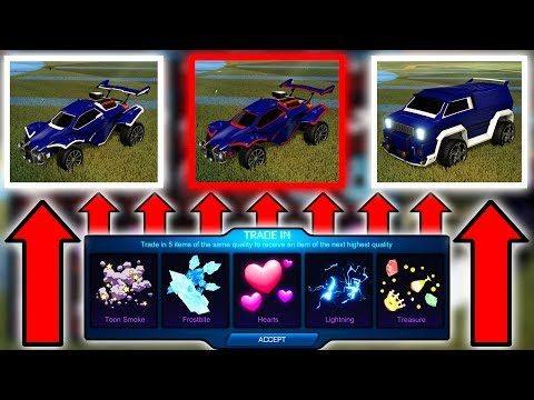 New Update LEAKED - Trade Ups for PAINTED OCTANE & More!! ( Rocket League )