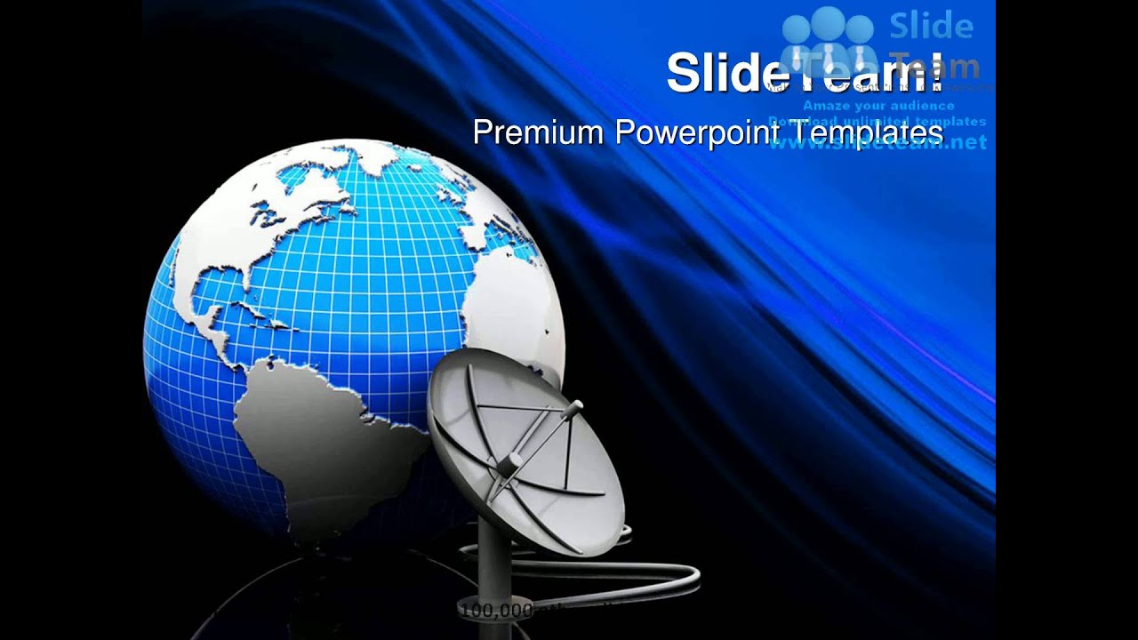 Earth and satellite antenna technology powerpoint templates themes earth and satellite antenna technology powerpoint templates themes and backgrounds graphic designs youtube toneelgroepblik Image collections