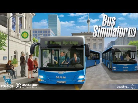 Bus Simulator 16 - Lets Play - Episode 1 The Tutorial