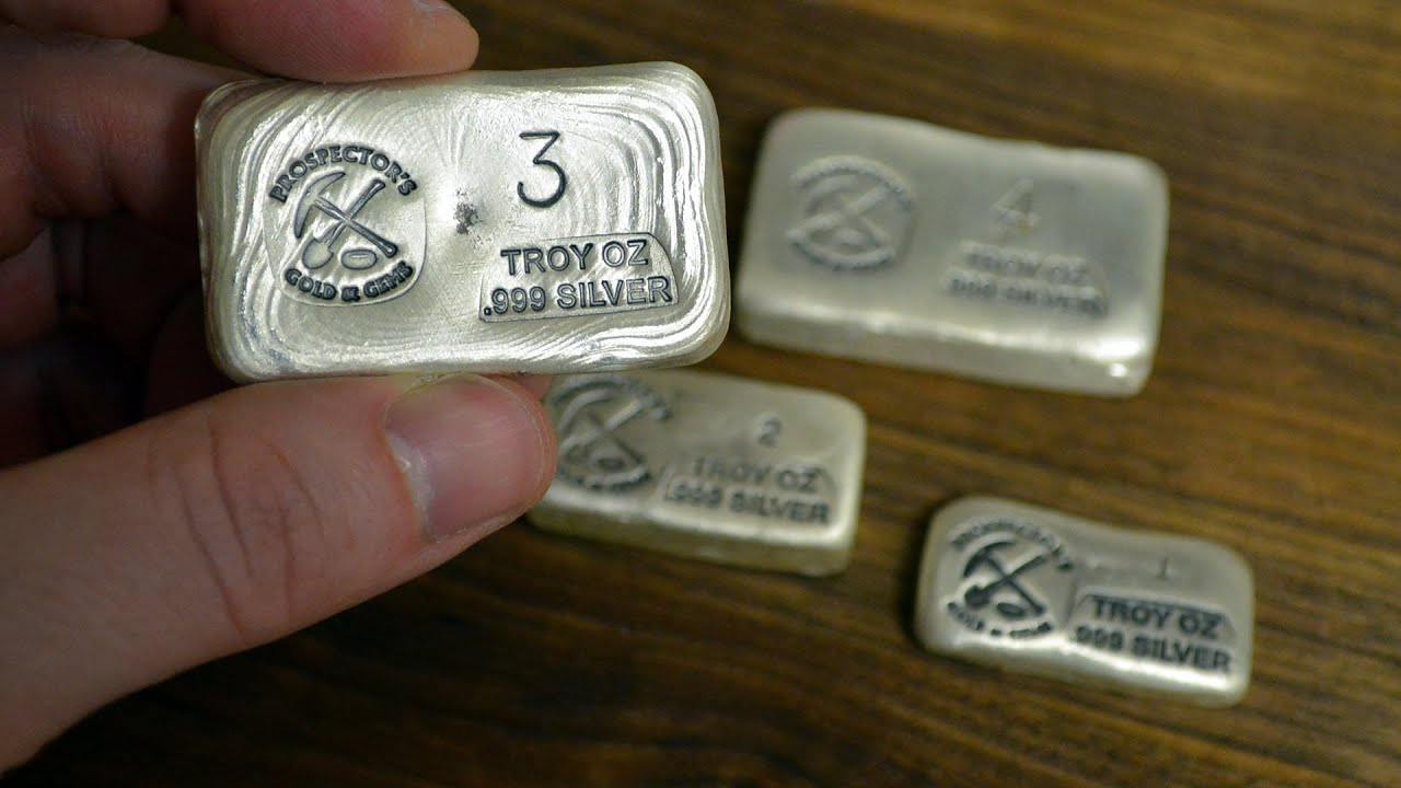 New Silver Bullion Unboxing Prospector S Gold And Gems