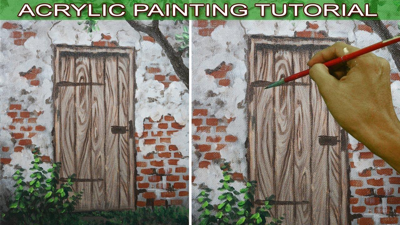 Painting Paintingtutorial Acrylicpaintingtutorial