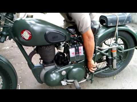 BSA Sideklep 500cc