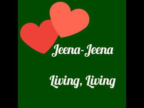 Jeena Jeena - Atif Aslam video song with english subtitle.