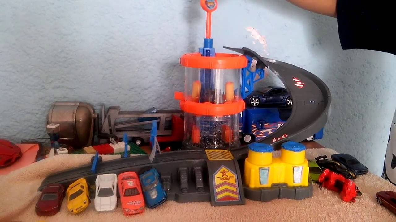 Auto Lavado Hot Wheels Tutorial De Mi Hija Youtube