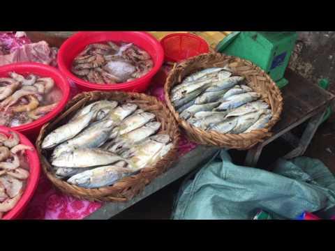 Kilomat Lekh 6 Market, Food Compilations In Market, Cambodian Market