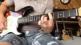 1962 Eric Johnson 1959 Joe Kubek 1963 Steve Holland Owned Fender Strat Eddie Vegas