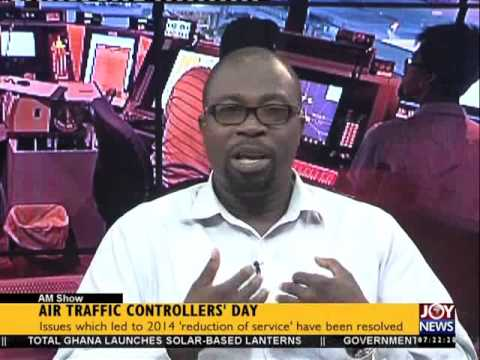 Air Traffic Controllers' Day - AM Show on Joy News (20-10-15)