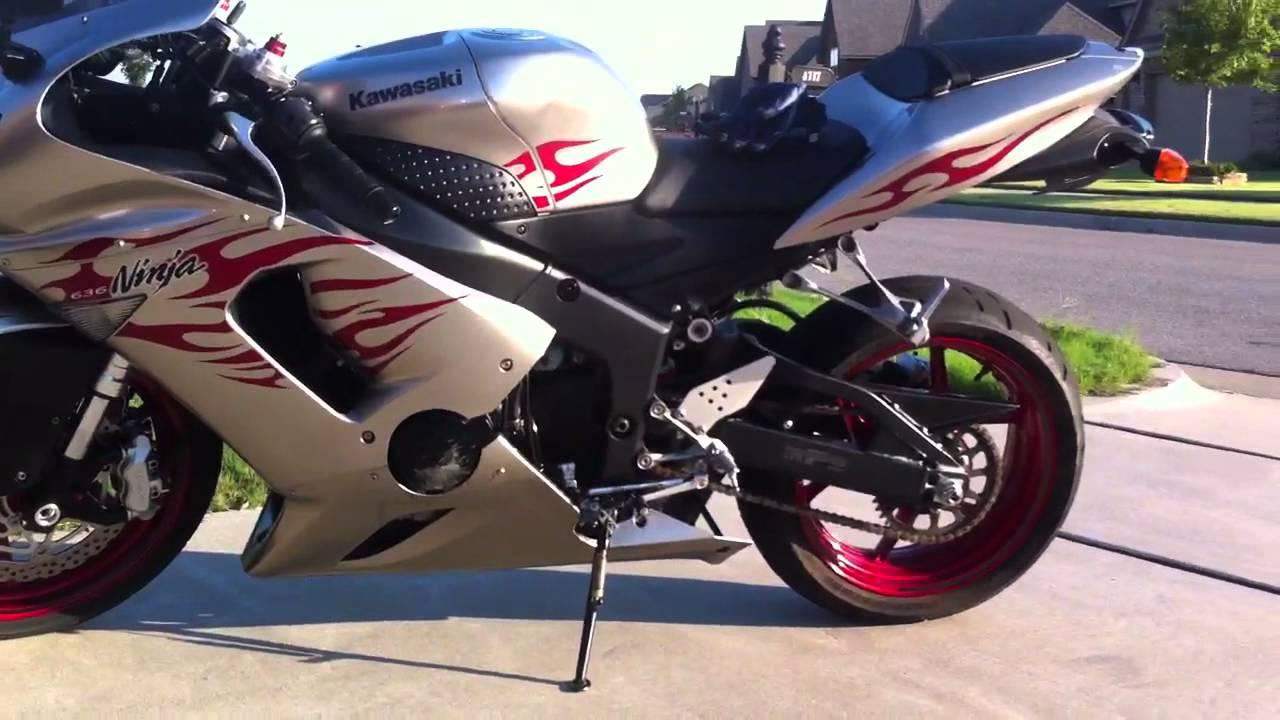 2006 Kawasaki Ninja ZX6R - YouTube