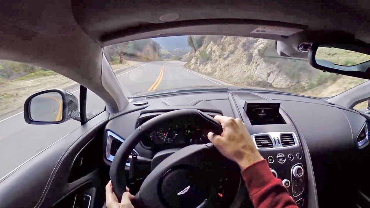 2015 Aston Martin V12 Vanquish - WR TV POV Canyon Drive - YouTube