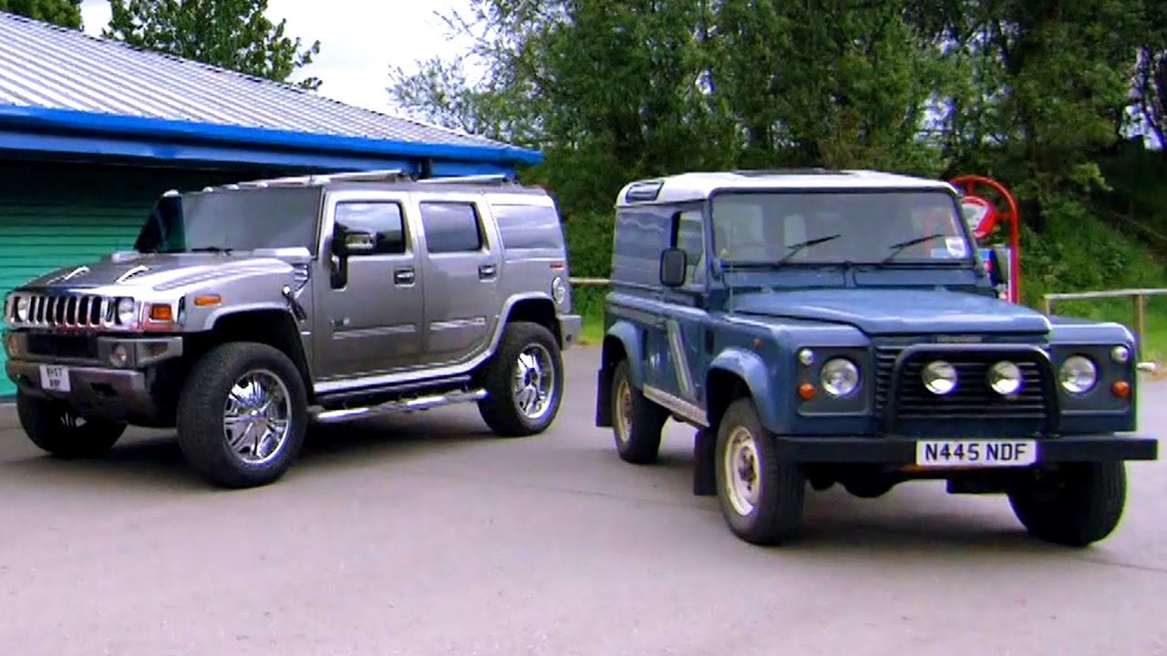 The Best Land Rover Alternatives Fifth Gear Youtube