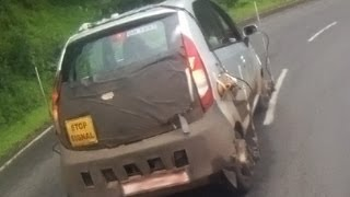 Exclusive: Tata Nano 800cc caught on test!
