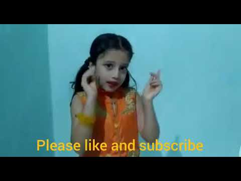 devotional song by cute lil girl