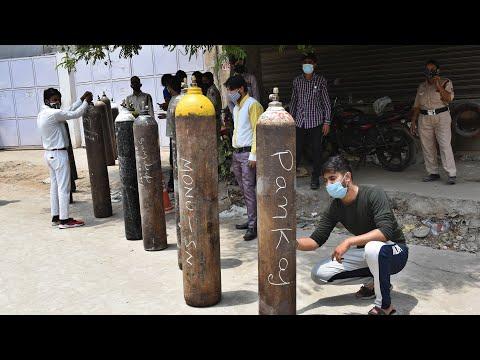 Indian capital Delhi sets up oxygen concentrator banks