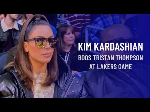 CK - VIDEO: Kim Kardashian boos Khloe's ex-boyfriend Tristan Thompson