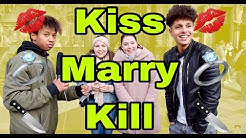 ♥♥♥ Kiss 💋 Marry 💍 Kill ❌ mit Henry ♥♥♥ Street Comedy deutsch #Teamjounes