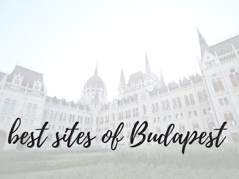 BUDAPEST | Everything you need to see while visiting Budapest, Hungary | Love, Alexa